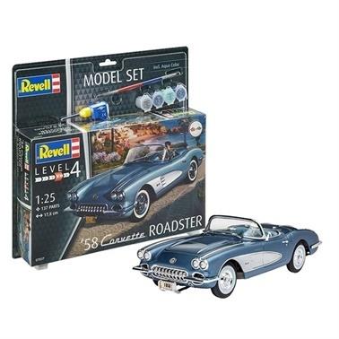 Revell Revell Maket Seti 58 Corvette R Renkli